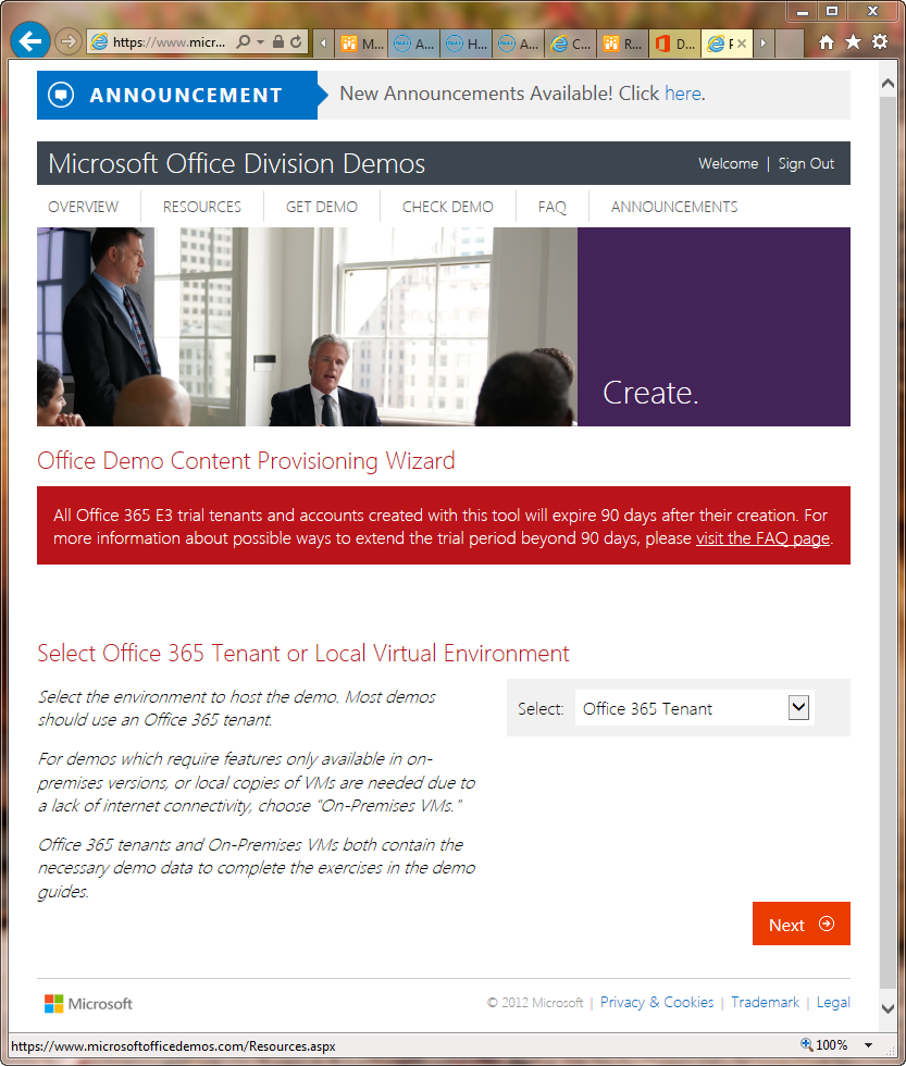 Creating an Office 365 demo tenant   Paul\'s Down-Home Page