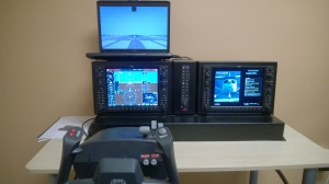 Nifty portable G1000 simulator