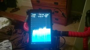TrainerRoad on the Dell Venue 8 Pro