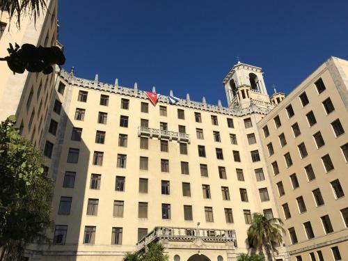 The imposing Hotel Naciónal